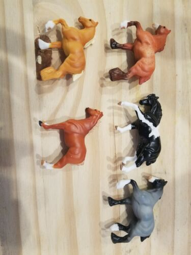 Breyer Mini Whinny Set of 5 Draft Horses