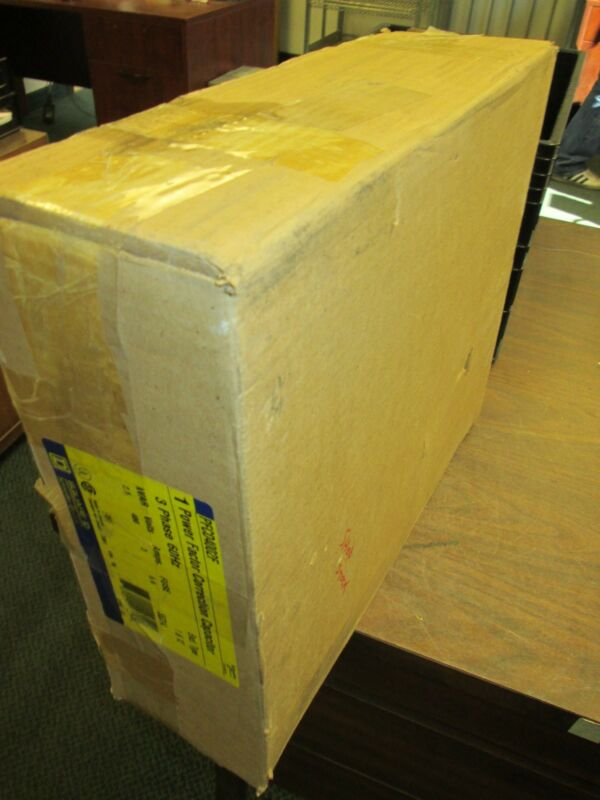 Square D Capacitor PFCD4002F 2.5kvar 480V 3Ph New Surplus