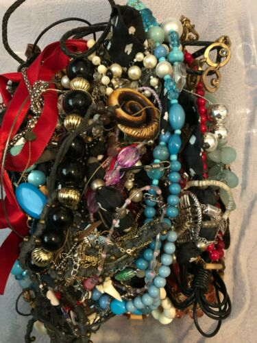 5 lbs Jewelry Lot for Crafting/Repurpose (#34)