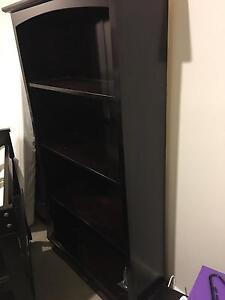 Borri Walnut Bookcase Blacktown Blacktown Area Preview