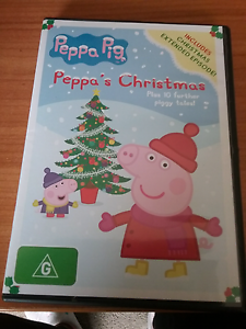 Peppa pig Peppa's Christmas Dvd Lara Outer Geelong Preview