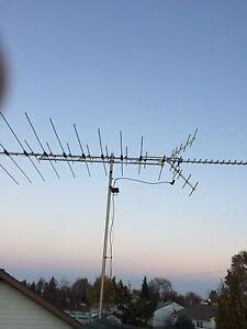 Antenne vhf, uhf, et fm
