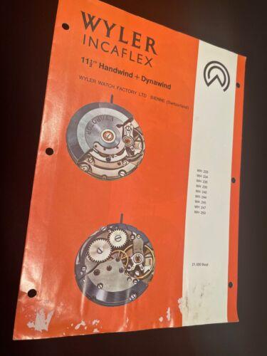 Vintage Wyler Incaflex watch watchmaker