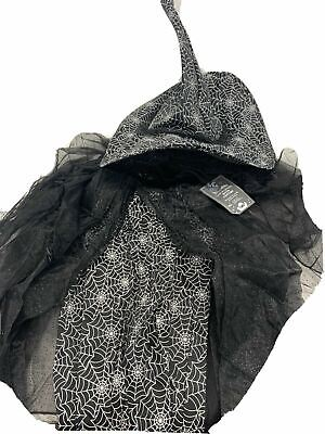 Pottery Barn Kids Glow in the Dark Witch Costume, 4-6 Years-- (New with Tags)