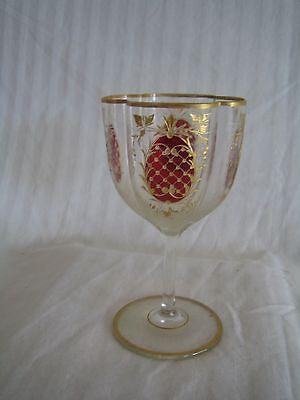antique European sherry glasses