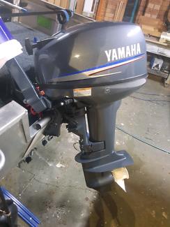 15hp outboard motor - yamaha - as new