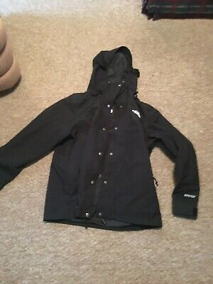 North Face Womens Jacket Xl Black Goretex coat has built in liner