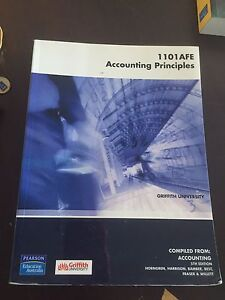 1101AFE accounting principles 5th edition Griffith university Eight Mile Plains Brisbane South West Preview