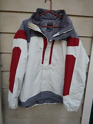 North Face XL Hyvent  2 in 1 Jacket Ski Snowboard X-Large with Zip In Jacket