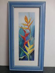 Framed Floral Prints by Karen Foley - Striking Heliconias II Umina Beach Gosford Area Preview