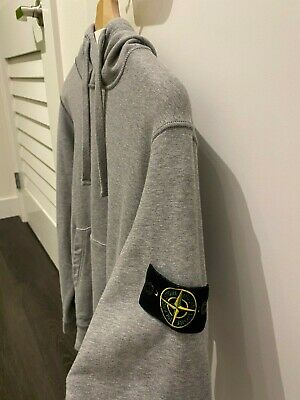 Stone Island Pull Over Hoodie Size Medium