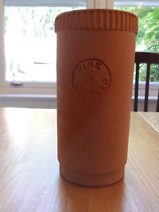 Vintage Terra-Cotta Wine Cooler - Made in Italy.