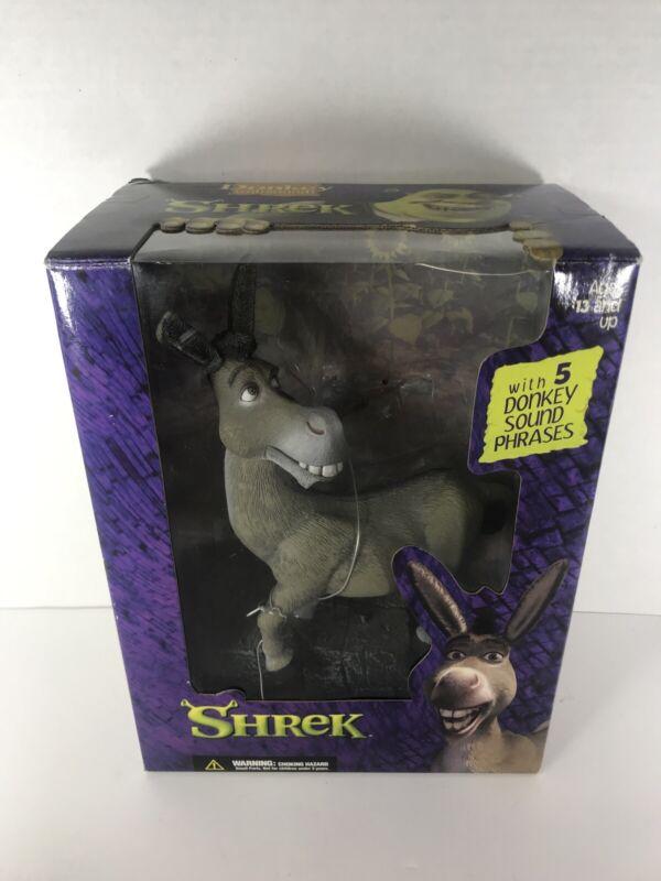 RARE Vintage 2001 SHREK Donkey with 5 Donkey Sound Phrases McFarlane WORKS