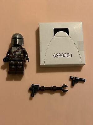 LEGO The Mandalorian w/ Beskar Armor Minifigure 75299 • Season 2 Star Wars