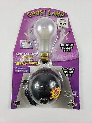 Make A Halloween Ghost Decoration (Ghost Lamp Make Any Lamp Flicker And Make Haunted Sounds.)