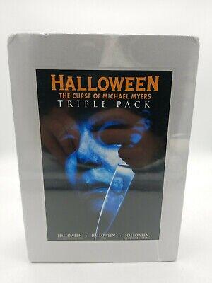 Halloween Triple Pack (Halloween - The Curse of Michael Myers |Halloween H20 DVD - The Movie Halloween H20