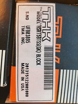 Hsr15-280l Thk New In Factory Packaging Linear Rail 20 Pcs