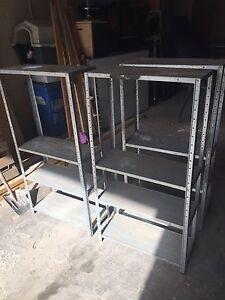 3 metal shelves Moorabbin Kingston Area Preview