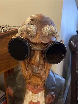 vintage welding goggles AO Steampunk Green Lenses