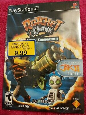 NEW Ratchet & Clank Going Commando Demo Disc PlayStation 2 (PS2)