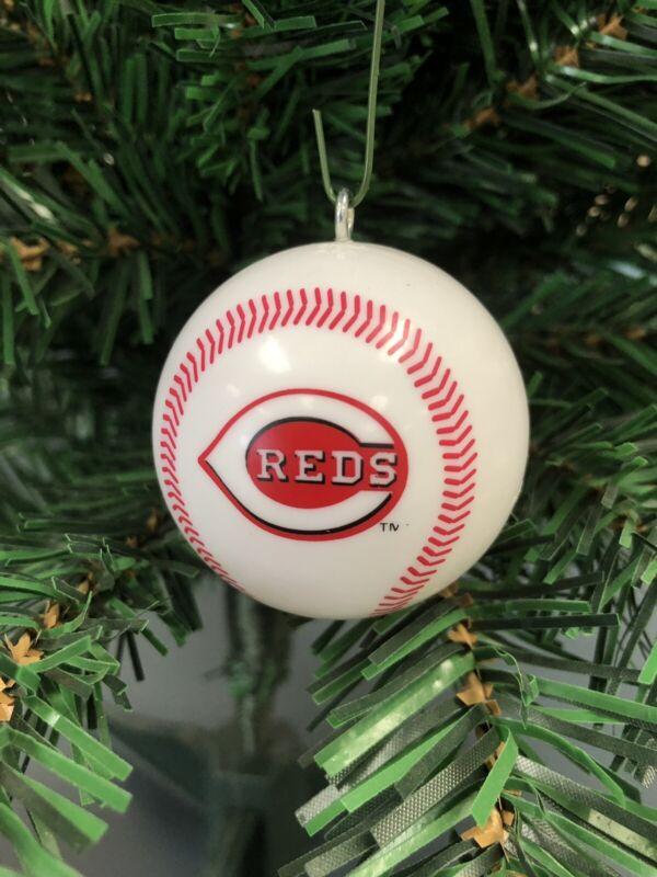 Cincinnati Reds MLB Baseball Christmas Ornament!!