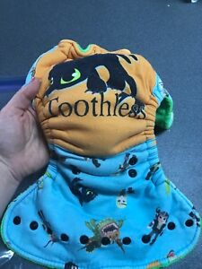 Butt ons brand toothless one size diaper