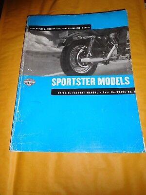 2002 Harley Davidson Electrical Diagnostic Manual Sportster Models 99495 02