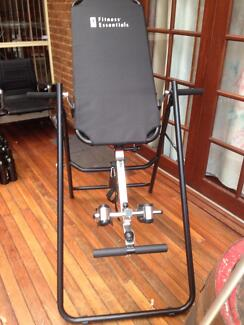 INVERSION  TABLE  GYM EXERCISE  MACHINE Casula Liverpool Area Preview