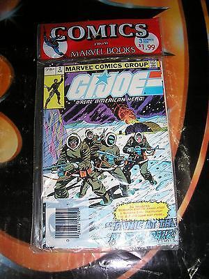 GI JOE SEALED Marvel Comics Pak #2,26,27 Origin Snake Eyes 3 for $1.99 UNOPENED