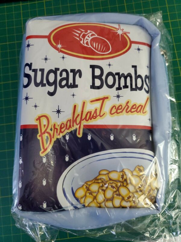 Lootcrate Sugar Bombs Breakfast Cereal Lunchbag?