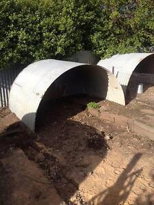 Corrugated half tank shelter Echunga Mount Barker Area Preview
