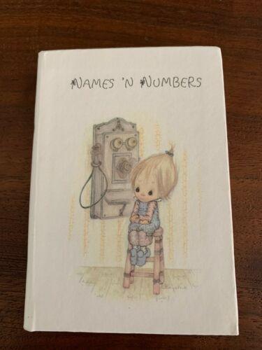 Vintage Betsey Clark Mini Address Phone Number Book Pocket Purse Hallmark Cards