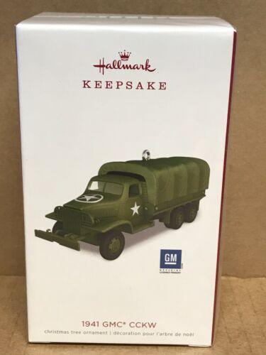 2018 Hallmark 1941 GMC CCKW