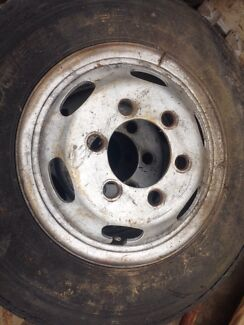 Truck tyres, 6.50R 16.  Toyota dyna rims,$300 the lot Yarramundi Hawkesbury Area Preview