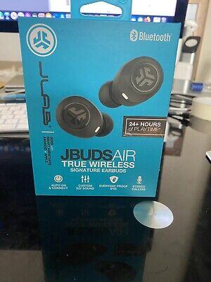 JLab JBuds Air True Wireless Signature In-Ear Headphones - Black...