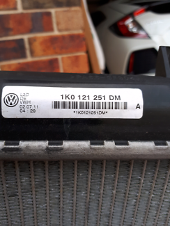 Radiator VW Green Valley Liverpool Area Preview