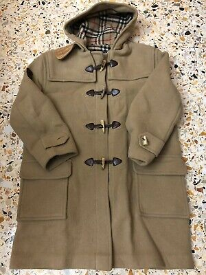 BURBERRYS CAPPOTTO MONTGOMERY UOMO Tg.54 CASUAL VINTAGE MAN COAT MADE IN ENGLAND