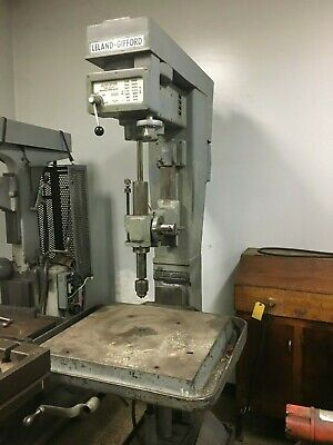 26 Leland-gifford 2-lvs Floor Model Variable Speed Drill Press - Clearance