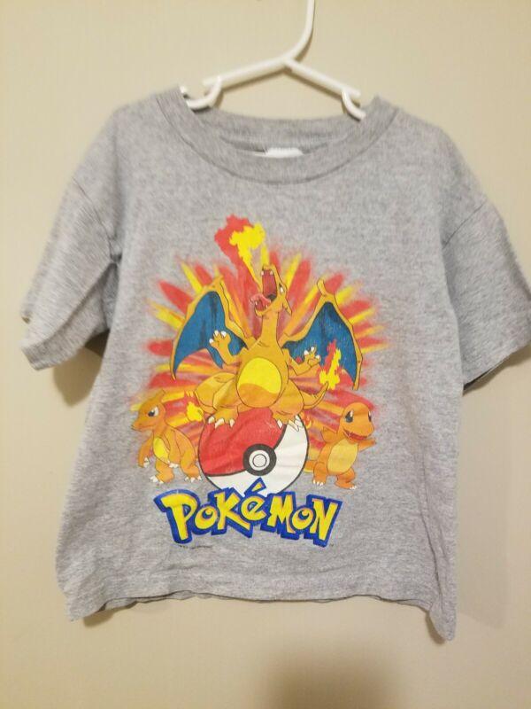 Vintage 1999 Pokemon Kids T Shirt 5/6