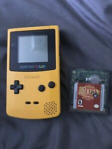 Gameboy color + Zelda