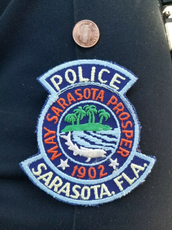Sarasota Florida Police patch