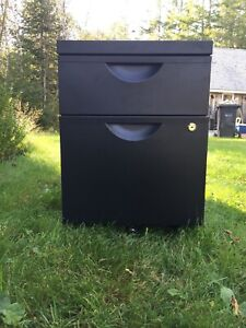 Small IKEA filing cabinet on wheels