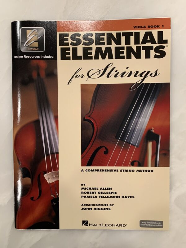 Viola Book 1 Essential Elements For Strings