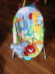 Automatic electric baby swing and baby bouncer