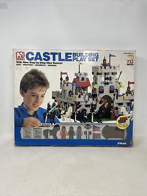 RARE Vintage Larami Coko Castle Building Play Set #7720-0 with 733 pieces