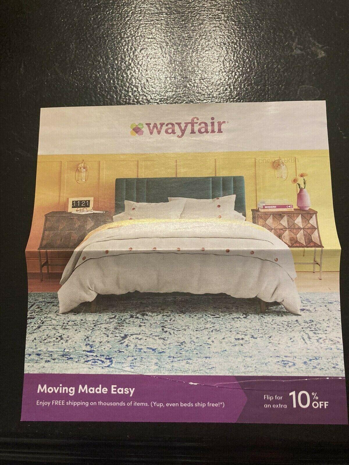 WAYFAIR.com Discount/Coupon Code 10 Off Your First Order - EXPIRES 7/2/2021 - $4.99