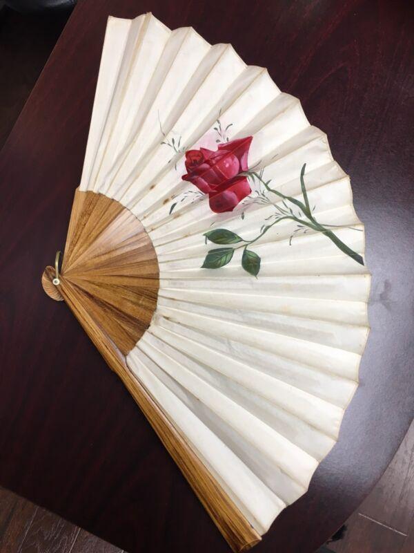 Vintage Chinese Folding Hand Fan
