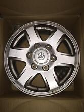 5 x Toyota Alloy Wheels Rims - 6x139.7 Cronulla Sutherland Area Preview