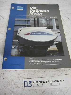 (OLD OUTBOARD MOTOR SERVICE MANUAL 1ST EDITION VOLUME 2)