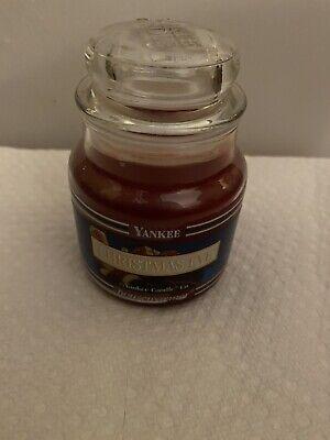 Yankee Candle 3.7 oz. Christmas Eve Candle Housewarmer Fruity Holiday